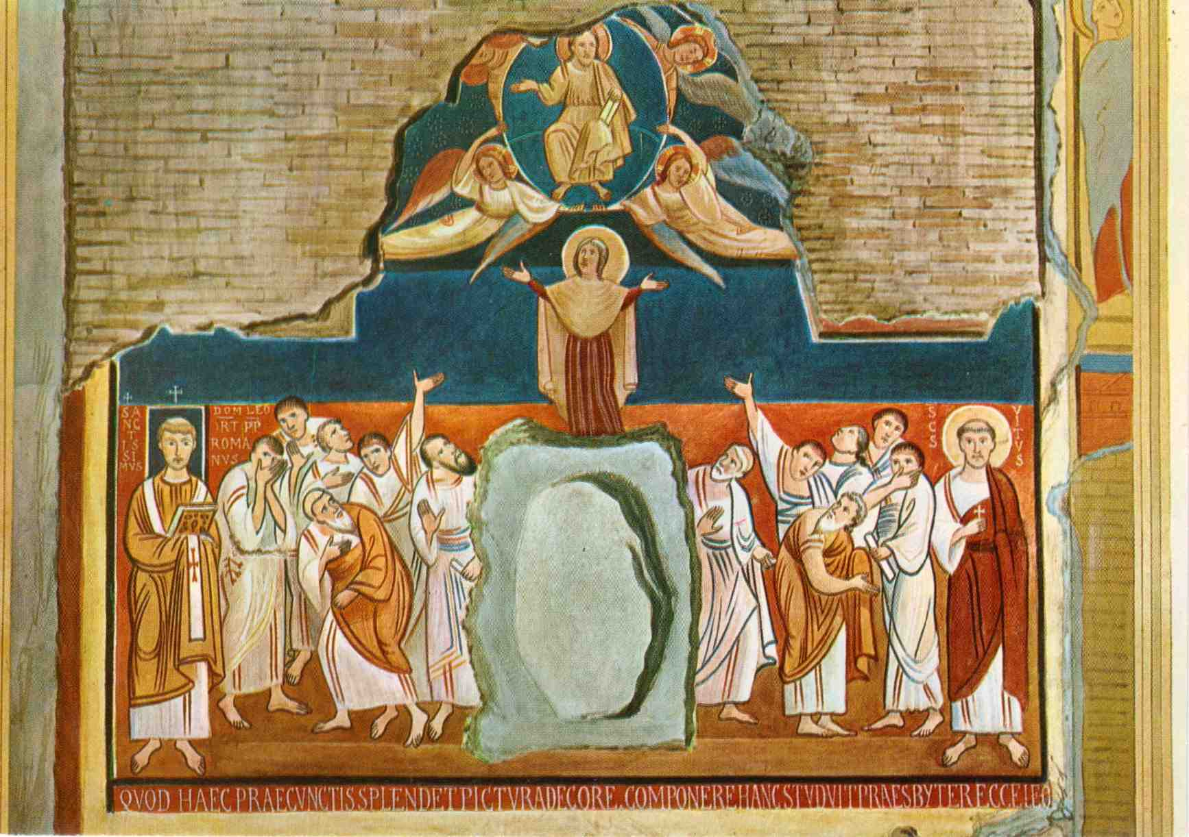 SanClementeFresco-Assumption of Mary