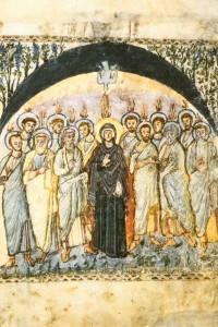 Sending of the Holy Spirit, Rabbula 6th Cent.