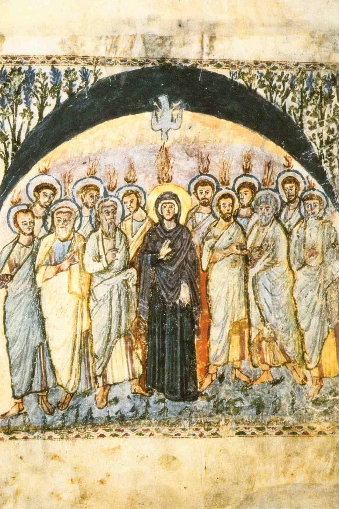 Sending of the Holy Spirit, Rabbula 6th Cent.